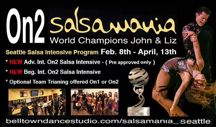 Seattle On2 Salsa Series Starts February 8th