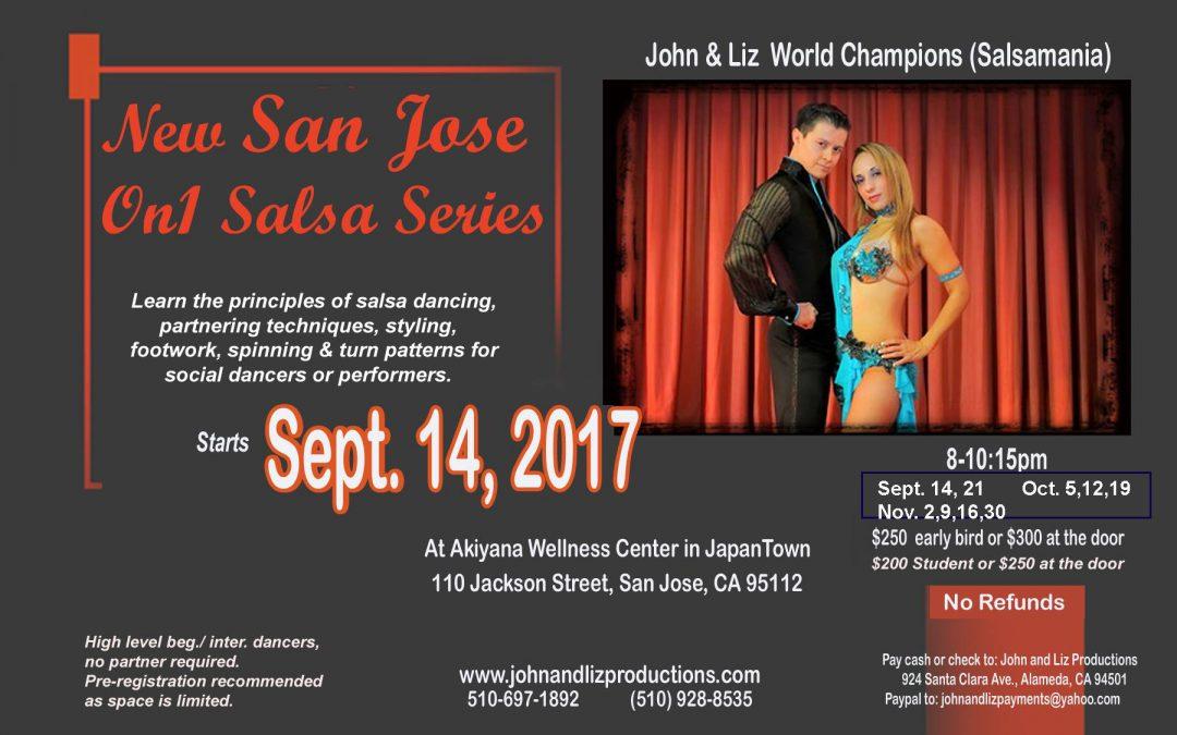 San Jose On 1 Intense Salsa Series Starts Sep 14